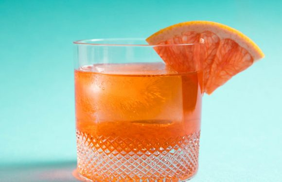 Unusual Negroni (Aperol, Lillet, and Gin Cocktail) Recipe