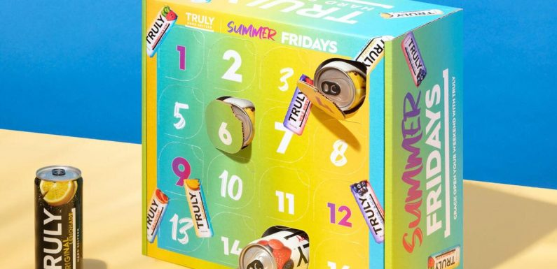 Truly's 'Summer Fridays' Calendar Rewards You with a New Hard Seltzer Each Weekend
