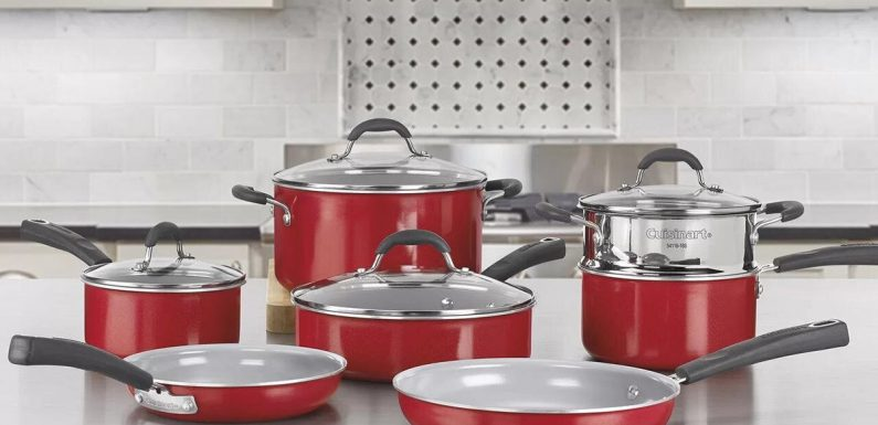 Wayfair Just Discounted All of Its Cuisinart Products—Including a Cookware Set for $200 Off
