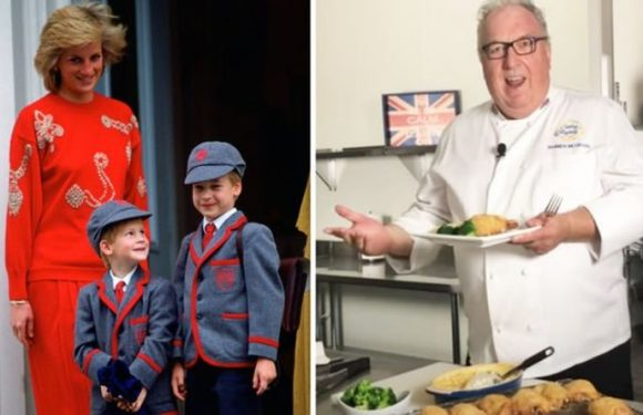Royal chef shares Prince William and Prince Harry's fave childhood chicken pasta recipe
