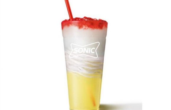 Sonic's New Lemonberry Slush Float Is the Lemonade/Ice Cream Mashup We Needed