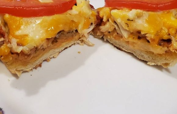 Brad's cheesey crab loaf