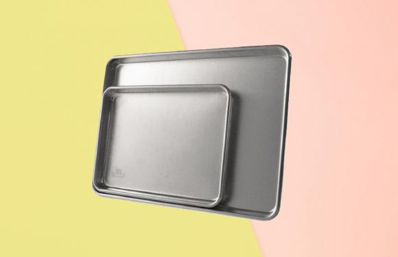 These Pro-Approved Sheet Pans Sold Out Twice—and They're Finally Back in Stock