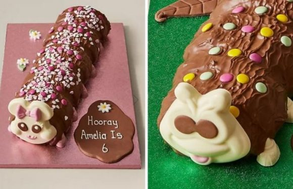 M&S launch giant Colin the Caterpillar cake – but shoppers are divided