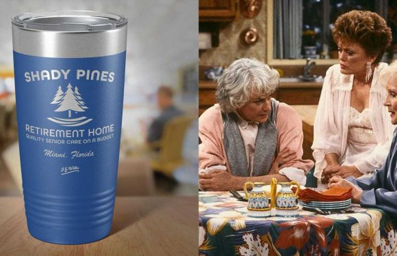 All 'Golden Girls' Fans NEED This Shady Pines Reusable Tumbler For Their Coffee And Wine