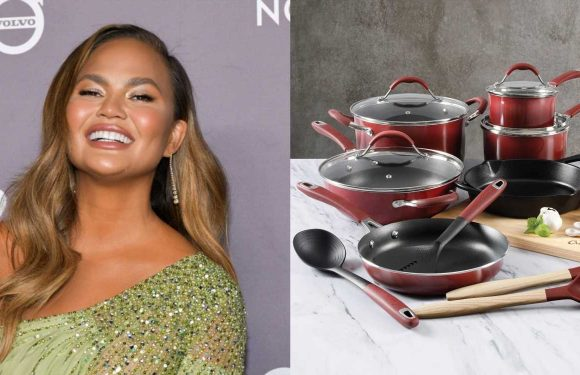 This 22-Piece Cooking Set From Chrissy Teigen's Cravings Line Is 80 Percent Off At Macy's For Black Friday