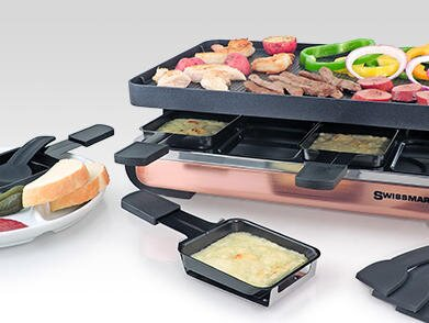 This Raclette Grill Makes Dinner at Home More Special