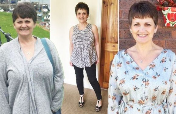 Weight loss: Woman shed an impressive 4st 4lb in five months with diet plan change