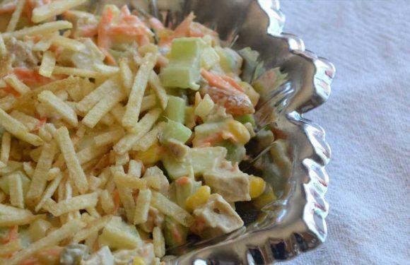 Brazilian Chicken Salad (Salpicao de Frango)