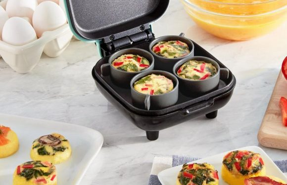 Shoppers Are Hailing This Amazon Egg Cooker As a Dupe for Starbucks Sous Vide Egg Bites