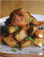 TikTok Is Obsessed With These Super-Simple Crispy Potatoes That Only Require A Few Ingredients