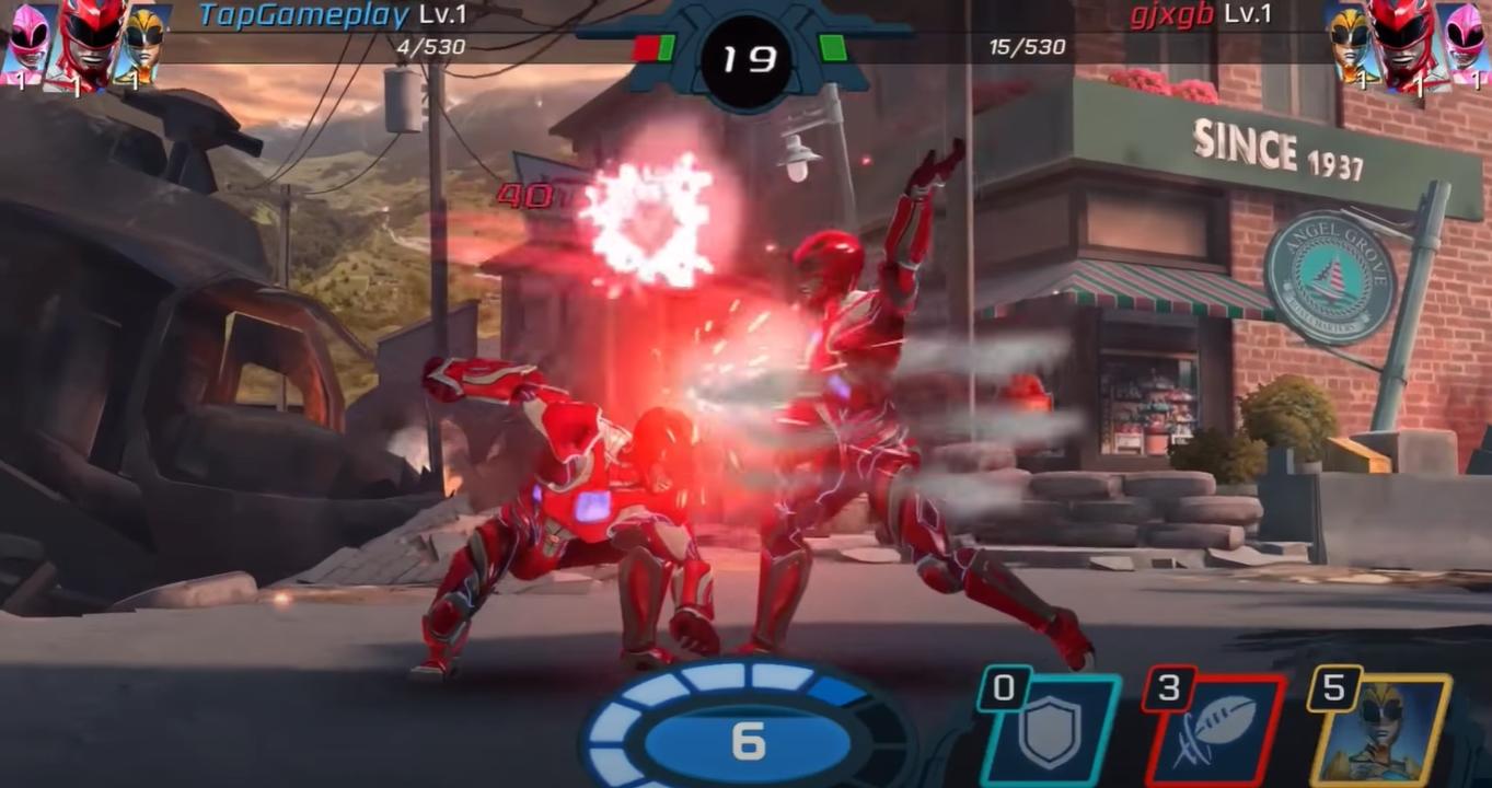Power Rangers Legacy Wars free