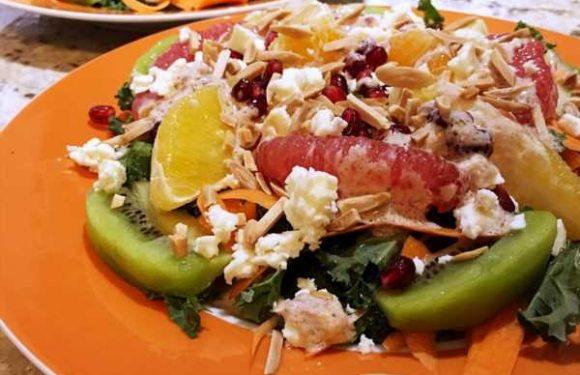 Fresh Winter Citrus Salad