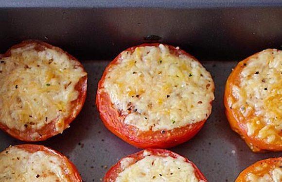 Parmesan-Roasted Tomatoes