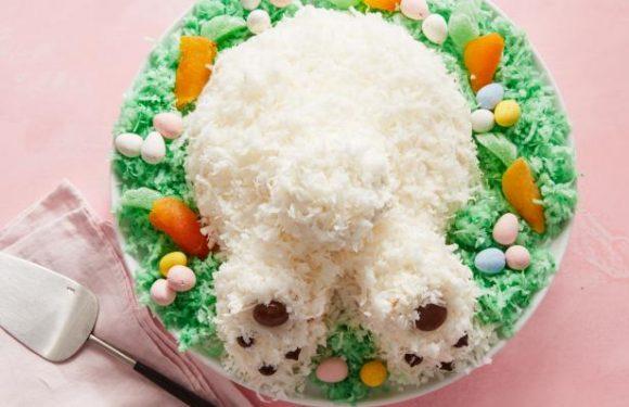 Coconut Bunny Butt Cake