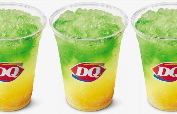 Dairy Queen Has A New Tropical Lemonade Slush As Part Of Its Spring Menu