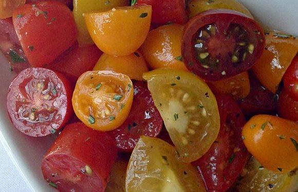 Heirloom Tomato Salad with Rosemary