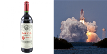 A Bottle Of French Wine That Spent A Year In Space Is Being Auctioned Off