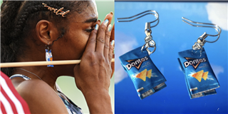 Christina Clemons Wore Doritos Earrings While Qualifying For Team USA
