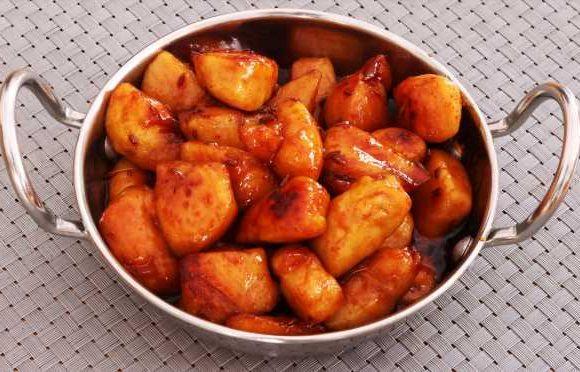 Stir-Fried Chicken with Honey
