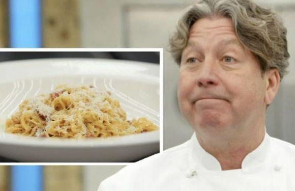 'No cream in it!' John Torode shares warning over pasta carbonara recipe