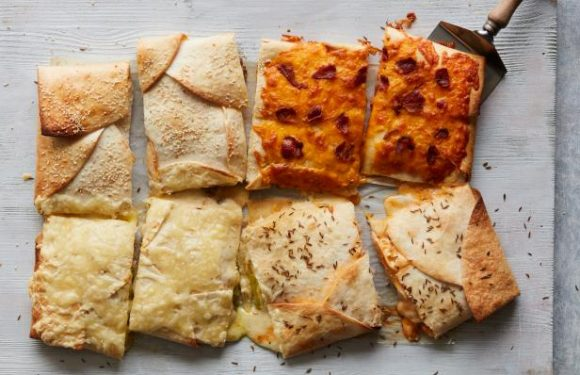 Four-Flavor Diner Sandwich-Dilla
