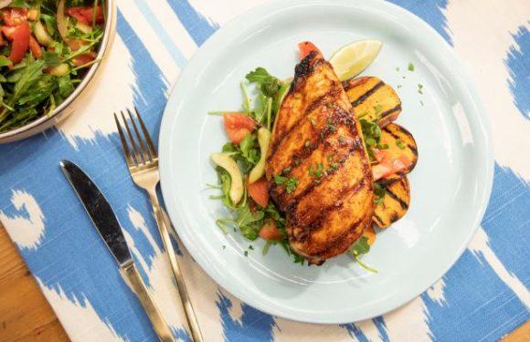 Peach BBQ Chicken