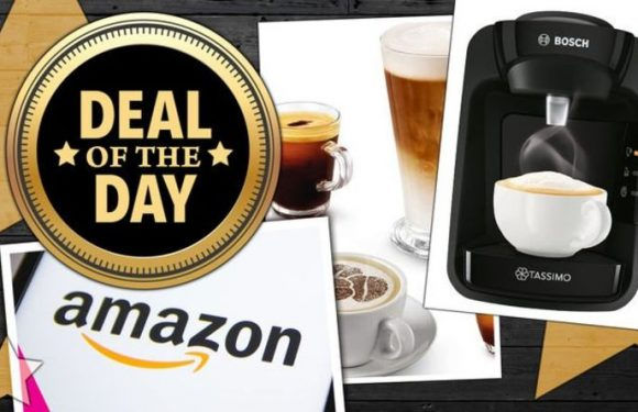 DEAL OF THE DAY: Tassimo Bosch coffee machine with 3000 5-star reviews is on sale for £30