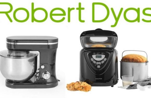 Robert Dyas slashes 50 percent off baking stand mixers and bread makers