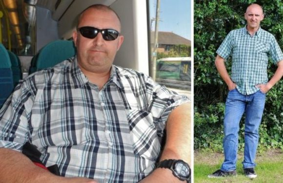 Weight loss: Man loses 13st in 12 months after being 'too big' for rollercoasters