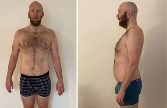 Weight loss: Man loses two stone with 'game changing' regime – 'enough was enough!'